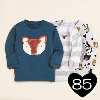 ネクスト(NEXT)の*85*森の動物 長袖Tシャツ 3 枚組(シャツ/カットソー)