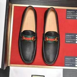 グッチ(Gucci)のGUCCI ホースビットローファー メンズ ブラック(ドレス/ビジネス)