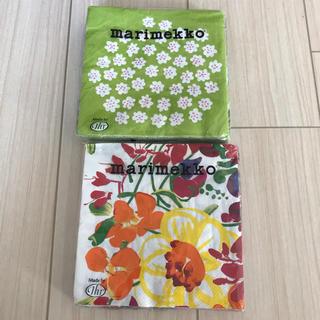 マリメッコ(marimekko)のマリメッコ  紙ナフキン 2セット(テーブル用品)