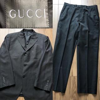 Gucci - 美品☆早い者勝ち☆GUCCI グッチ ピンストライプ スーツ