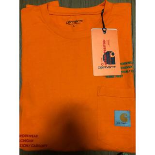 カーハート(carhartt)のcarhartt x heron prestonのコラボTシャツ(Tシャツ/カットソー(半袖/袖なし))