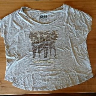 ミスティウーマン(mysty woman)のKISS Tシャツ(Tシャツ(半袖/袖なし))