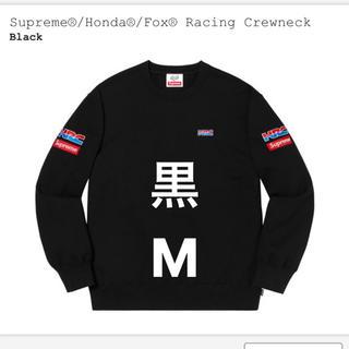 Supreme - 定価以下 supreme honda fox racing 黒 M