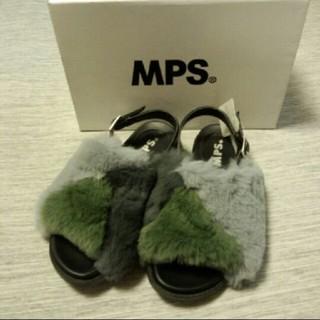MPS - 🌟10月20日まで🌟MPS ファーサンダル 20㎝