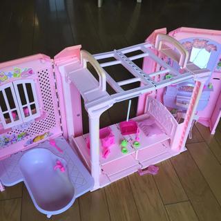 バービー(Barbie)のバービー りかちゃん ドールハウス お家 おうち(ぬいぐるみ/人形)