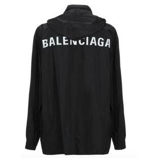 バレンシアガ(Balenciaga)の【BALENCIAGA】19AW ロゴ レインコート オーバーサイズ 新品未使用(ナイロンジャケット)