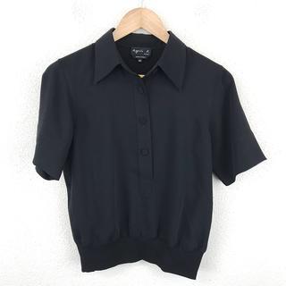 agnes b. - 美品 agnès b. アニエスベー 半袖 シャツ サイズ36 シンプル 人気
