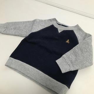 babyGAP - babyGAP♡裏毛付きトレーナー 美品