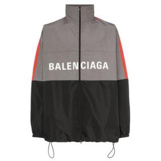 バレンシアガ(Balenciaga)の【BALENCIAGA】19SS ジップアップロゴ ナイロントラックジャケット (ナイロンジャケット)