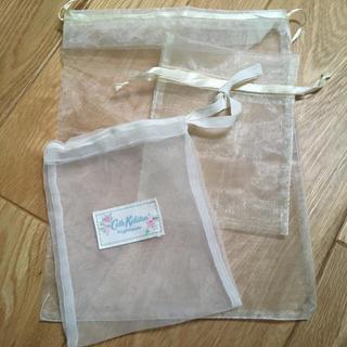 Cath Kidston - 巾着袋  チュール素材  3種類