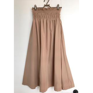 サマンサモスモス(SM2)の💡最終価格[Green Parks]ウエストシャーリングスカート(ロングスカート)