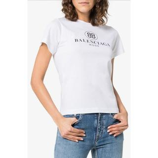 バレンシアガ(Balenciaga)のBALENCIAGA バレンシアガ ロゴ プリント Tシャツ(Tシャツ(半袖/袖なし))