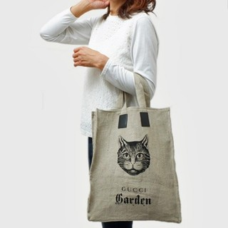 グッチガーデン(GUCCI GARDEN)猫柄トート