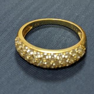 JEWELRY TSUTSUMI - ダイヤモンドリング(K18パヴェダイヤ1カラット)