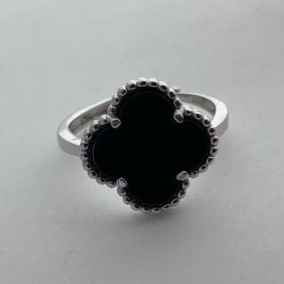 シルバー925 リング 指輪 クローバー  シルバーリング(リング(指輪))