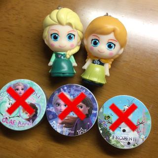 Disney - アナと雪の女王 ソフビ マステ 3点セット