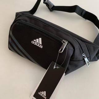adidas - アディダス 3tベーシックミニマムポーチ AJ4230 ウエストポーチ