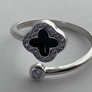 シルバー925 クローバー リング 指輪 シルバーリング(リング(指輪))