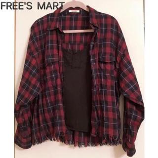 FREE'S MART - フリーズマートチェックシャツ+キャミソールセット