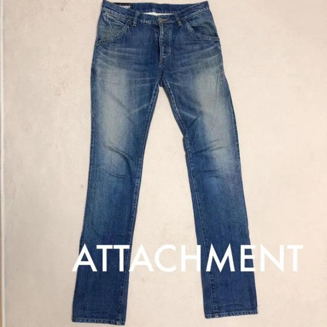ATTACHIMENT(アタッチメント)のattachment★ダメージ加工ジーンズ メンズのパンツ(デニム/ジーンズ)の商品写真