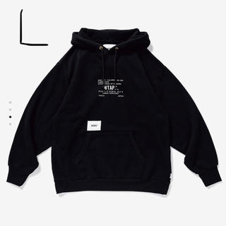 W)taps - 19aw L WTAPS ACADEMY HOODED ダブルタップス パーカー