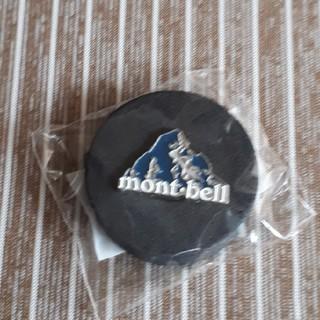 モンベル(mont bell)の未開封! mont-bell ピンバッジ(登山用品)