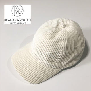 BEAUTY&YOUTH UNITED ARROWS - 【BEAUTY&YOUTH】ビッグコーデュロイキャップ F