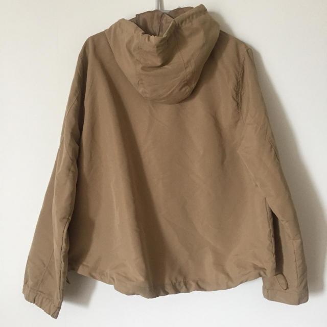 しまむら(シマムラ)のしまむら マウンテンパーカー モッズコート ベージュ L レディースのジャケット/アウター(ナイロンジャケット)の商品写真