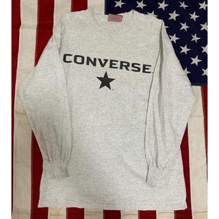 コンバース(CONVERSE)の90s converse ロンT ヴィンテージ  made in USA(Tシャツ/カットソー(七分/長袖))