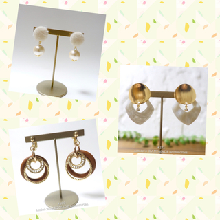 #171 ~ HANDMADE earring(pierce)~
