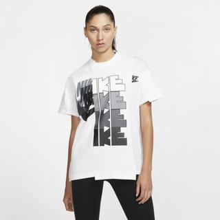 sacai - 未使用 sacai NIKE Tシャツ 白 ホワイト Lサイズ