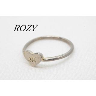 【R985】KOZY ロージィー ハート イニシャル M リング 指輪 11号(リング(指輪))