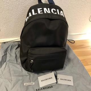 バレンシアガ(Balenciaga)の新品100%本物 BALENCIAGA  ウィールバックパック S (リュック/バックパック)