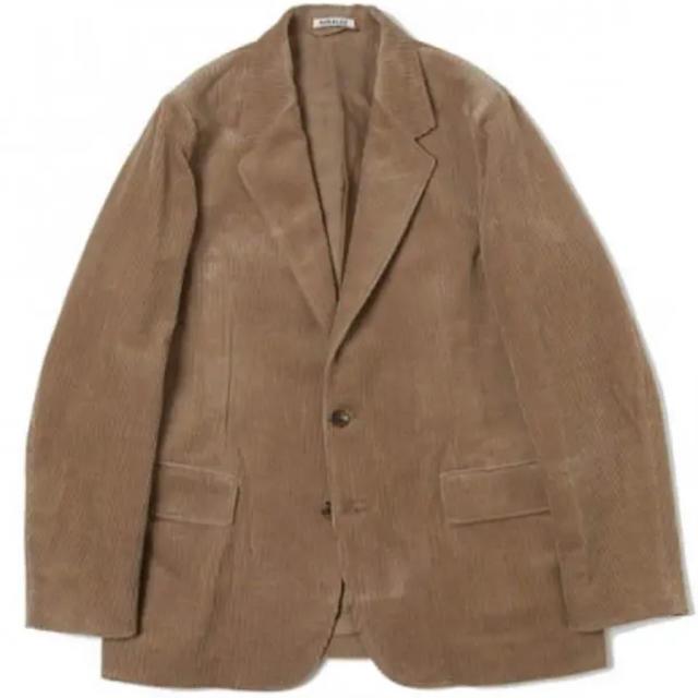 COMOLI(コモリ)のAURALEE WASHED CORDUROYセットアップ 19aw メンズのジャケット/アウター(テーラードジャケット)の商品写真
