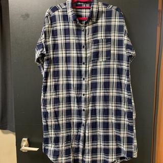 イング(INGNI)のロングチェックシャツ(シャツ/ブラウス(長袖/七分))
