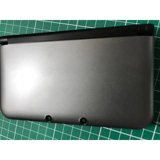 ニンテンドー3DS - 任天堂3DS LL  シルバー×ブラック 4GBのSDカード 充電器 付属
