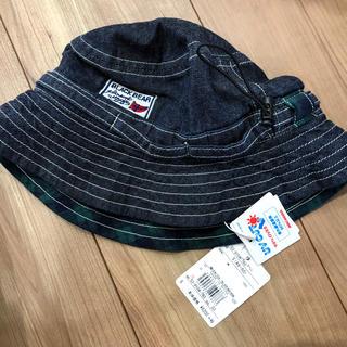 ミキハウス(mikihouse)のミキハウス ブラックベア 帽子 S 新品(帽子)