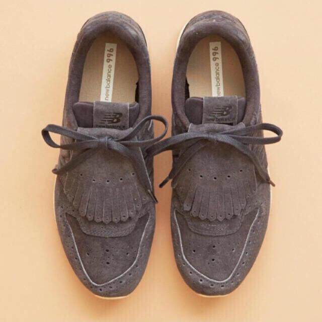 BEAUTY&YOUTH UNITED ARROWS(ビューティアンドユースユナイテッドアローズ)の新品 ニューバランス WL996 スニーカー タッセル レディースの靴/シューズ(スニーカー)の商品写真