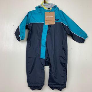 パタゴニア(patagonia)のpatagonia 6M 防水 ロンパース  カバーオール ジャンプスーツ (カバーオール)