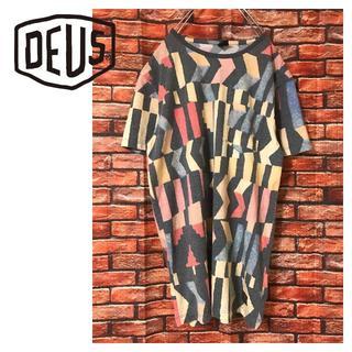 Deus ex Machina - DEUS EX MACHINA デザイン柄 ポケット Tシャツ