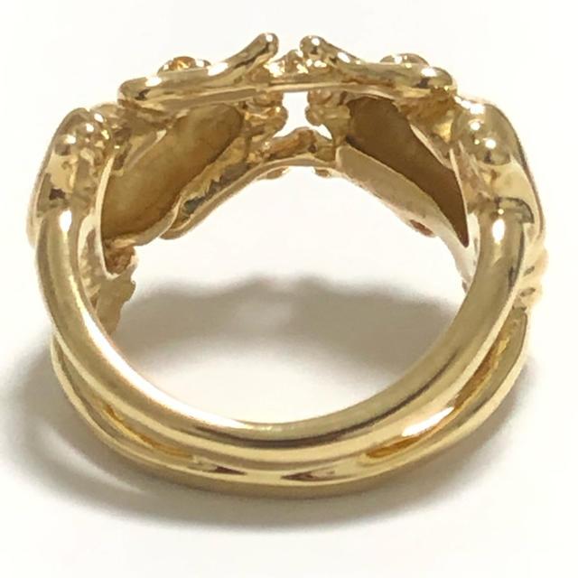 カレライカレラ カエル リング 指輪 k18yg 750 イエローゴールド レディースのアクセサリー(リング(指輪))の商品写真