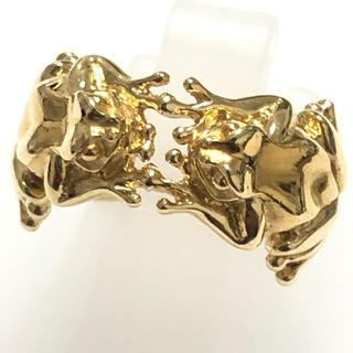 カレライカレラ カエル リング 指輪 k18yg 750 イエローゴールド(リング(指輪))