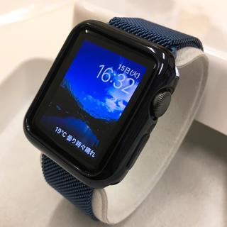 アップルウォッチ(Apple Watch)のApple Watch series1 Space Gray アップルウォッチ(その他)