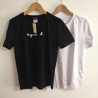 agnes b. - agnesb. S定番黒白2点セットアニエス・ベー半袖Tシャツ