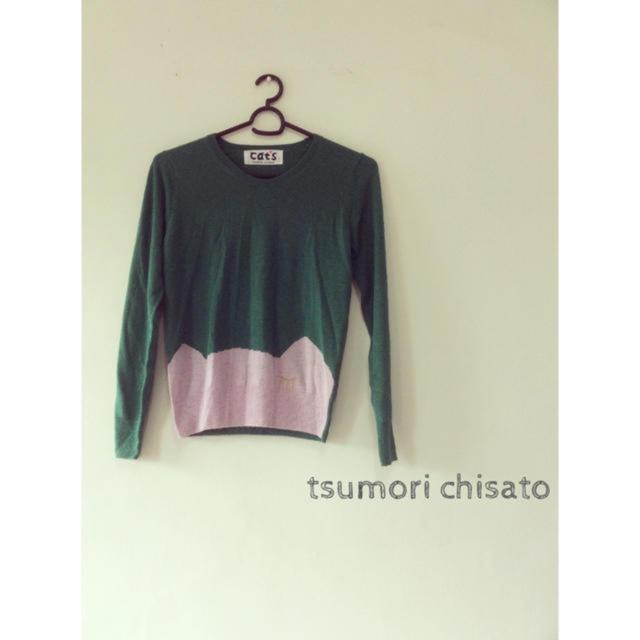 TSUMORI CHISATO(ツモリチサト)のツモリチサト ネコちゃん ニット 長袖 cats アトリエドゥサボン ネネット レディースのトップス(ニット/セーター)の商品写真
