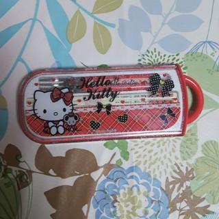 サンリオ(サンリオ)のキティーちゃん お箸セット(弁当用品)