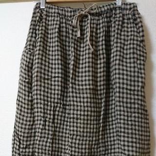 サマンサモスモス(SM2)のスカート チェック(ひざ丈スカート)