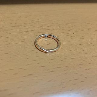 ザキッス(THE KISS)の 指輪 リング 7号 薬指用 レディース ピンクゴールド ペアリング(リング(指輪))