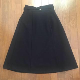 オペークドットクリップ(OPAQUE.CLIP)の【10/16お値下げ】フレアスカート  膝丈スカート(ひざ丈スカート)