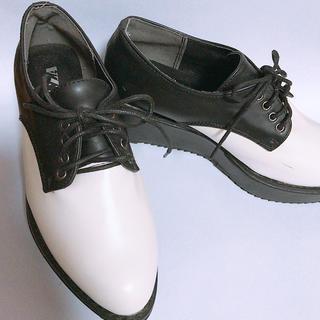 コルザ(COLZA)のCOLZA   オックスフォードシューズ 厚底(ローファー/革靴)